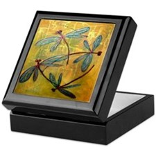 Dragonfly Haze Keepsake Box