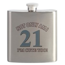 Cute 21 year old designs Flask