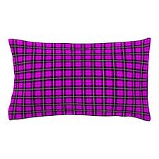 Pink Plaid Pillow Case