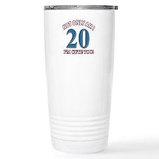 Cute 20 year old designs Travel Mug