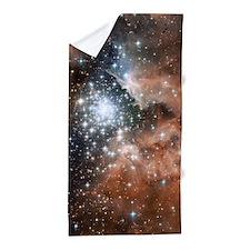 NGC3603 Nebula Beach Towel