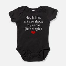 Ask Me About My Uncle Baby Bodysuit
