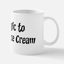 Allergic to Strawberry Ice Cr Mug