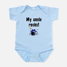My Uncle Rocks Body Suit