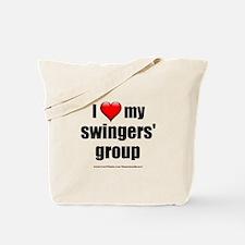 """""""Love My Swingers' Group"""" Tote Bag"""