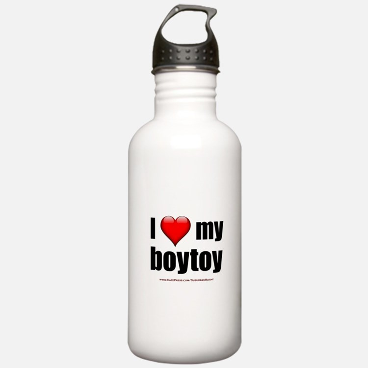 """""""Love My Boytoy"""" Water Bottle"""