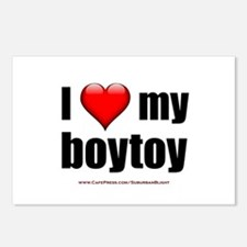 """Love My Boytoy"" Postcards (Package of 8)"