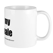 I Love My Shemale bevmug.png Small Mug