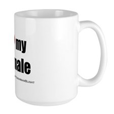 I Love My Shemale bevmug.png Mug