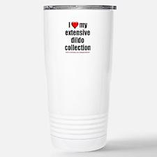 """I Love My Dildo Collection"" Travel Mug"