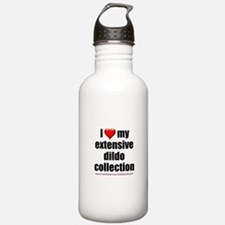 """I Love My Dildo Collection"" Water Bottle"