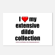 """I Love My Dildo Collection"" Postcards (Package of"