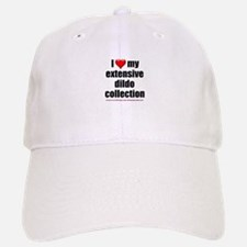 """I Love My Dildo Collection"" Baseball Baseball Cap"