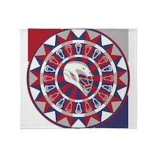 Lacrosse Shakey Dartboard Throw Blanket