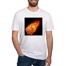 Flaming ball design Shirt