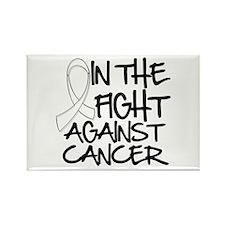 In the Fight Retinoblastoma Rectangle Magnet