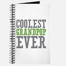 Coolest Grandpop Ever Journal