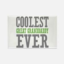 Coolest Great Granddaddy Ever Rectangle Magnet
