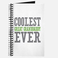 Coolest Great Granddaddy Ever Journal