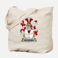 McGowan Family Crest Tote Bag