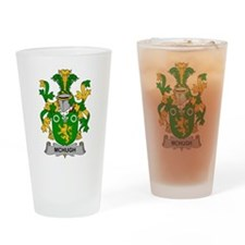McHugh Family Crest Drinking Glass