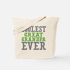Coolest Great Grandpa Ever Tote Bag