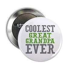 """Coolest Great Grandpa Ever 2.25"""" Button"""