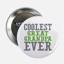 "Coolest Great Grandpa Ever 2.25"" Button"