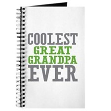 Coolest Great Grandpa Ever Journal