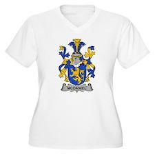 McDaniel Family Crest Plus Size T-Shirt