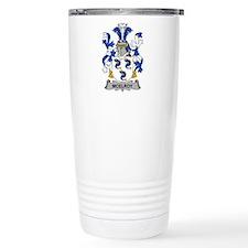 McElroy Family Crest Travel Mug