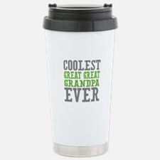Coolest Great Great Grandpa Ever Travel Mug