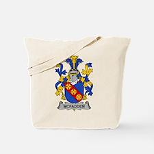 McFadden Family Crest Tote Bag