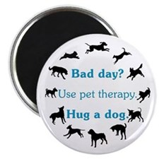 """Pet Therapy 2.25"""" Magnet (10 pack)"""
