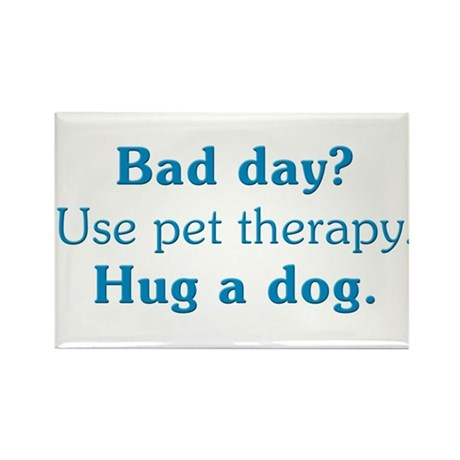 Pet Therapy Rectangle Magnet (100 pack)