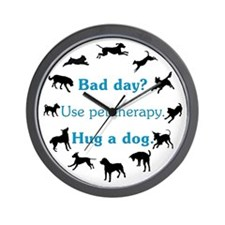Pet Therapy Wall Clock