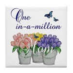 One in a Million Mom Tile Coaster