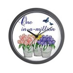 One in a Million Mom Wall Clock