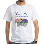 One in a Million Mom White T-Shirt