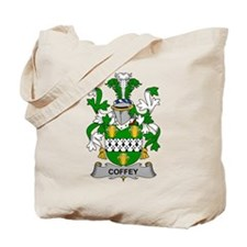 Coffey Family Crest Tote Bag