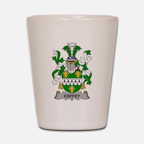Coffey Family Crest Shot Glass
