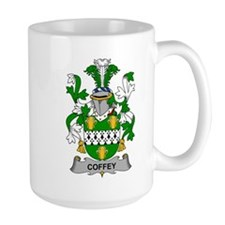 Coffey Family Crest Mugs