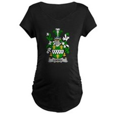 Coffey Family Crest Maternity T-Shirt
