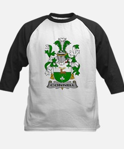 Connell Family Crest Baseball Jersey