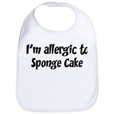 Allergic to Sponge Cake Bib