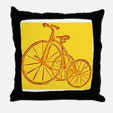Roll em wheels Throw Pillow