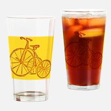 Roll em wheels Drinking Glass