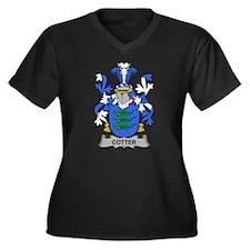 Cotter Family Crest Plus Size T-Shirt