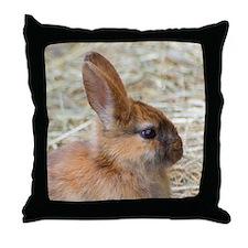 Rabbit001 Throw Pillow