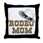 Rodeo Mom Throw Pillow